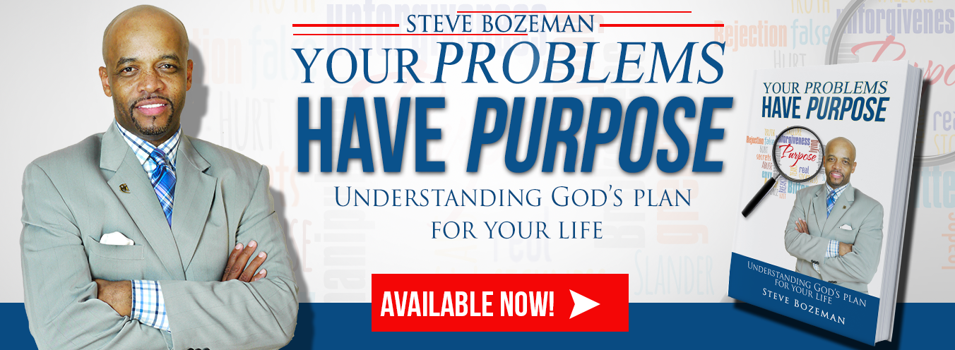 Author, Pastor Steve Bozeman